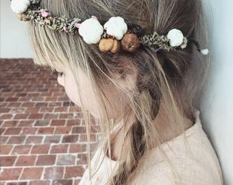 Dried Flowers Crown Stella