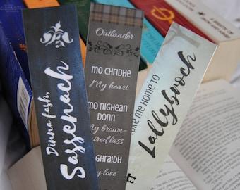 Outlander Bookmarks (Set of 3)