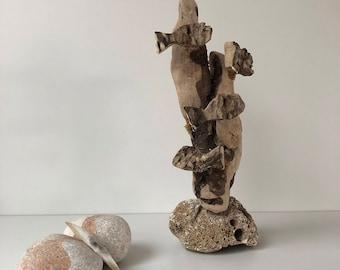 Sea wood fish, driftwood art-Cala Montgó