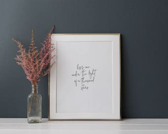 Ed Sheeran Thinking Out Loud Lyrics Print - First Dance Print - Printable Lyrics - Wedding Song Print - Wedding Gift - Wedding Song Lyrics