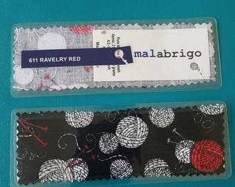 Yarn Label Bookmark: Malabrigo Rios