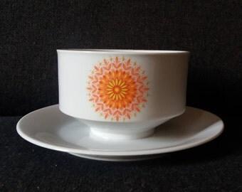 Vintage Winterling Bavaria porcelain Vintagesauciere dishes