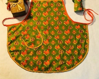 Pumpkin Time Apron