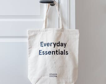 Cotton Tote Bag - Everyday Essentials