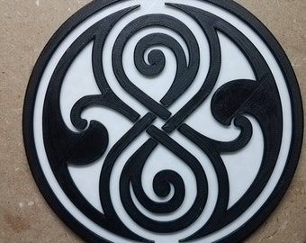 Seal of Rassilon (3d printed from Doctor Who)