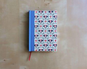 Handmade, hand bound notebook
