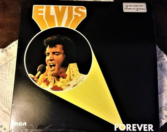 Elvis Forever 2 LP Set - Made in Canada 1974 RCA Records