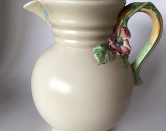 Vintage Clarice Cliff large water pitcher