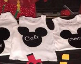 Personalized Mickey Party