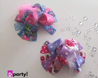 Shopkins Hair Bow, Shopkins Hairbow, Shopkins Bow, Boutique Hair Bow, Shopkins Birthday Party, Shopkins Outfit, Funky Hair Bow
