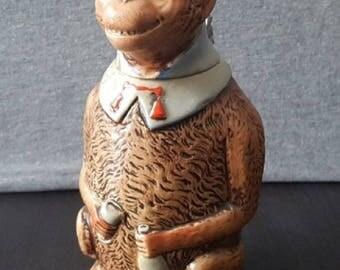 Figural Monkey Beer Stein