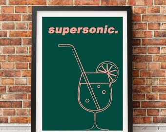OASIS - Supersonic Poster