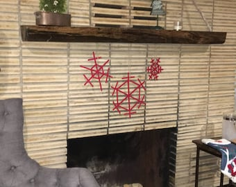 Set of 3 Snowflake Ornaments
