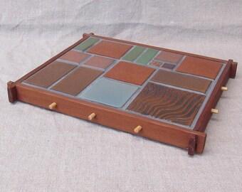 Tile Trivets Framed in Redwood: 1 of 5