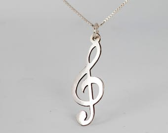 925 sterling silver Sol Key necklace