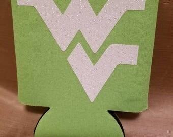 West Virginia Can Koozie