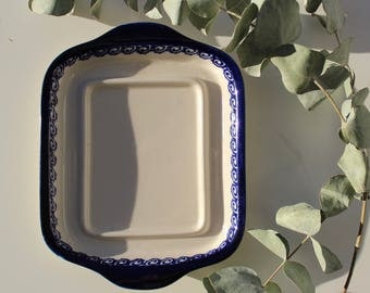 Blue & White Serving Plate