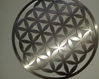 Stainless Steel Flower of Life