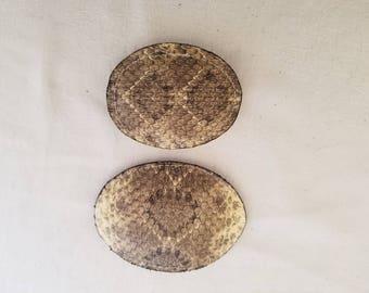 Diamondback Rattlesnake Belt Buckle