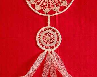 Dreamcatcher hand crafted Made in ITALY (DOUBLE SMALL)