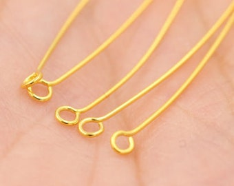 10pcs,925 silver gold 9 pin,DIY handmade material earrings accessories,L-BM-0267