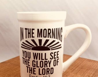 16 oz Scripture Verse White Ceramic Mug
