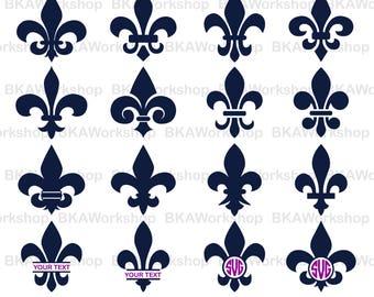 Fleur svg - Fleur de lis svg - Fleur de lis vector - Fleur de lis digital clipart for Design or more, files download svg, png, jpg, dxf