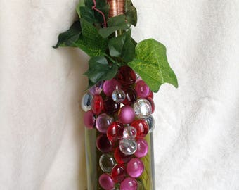 Wine Bottle LED Light/centerpiece 750ml