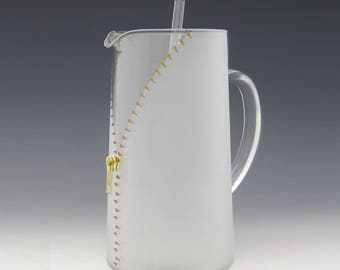 XYZ Zipper Pitcher - A slightly naughty but way fun way to enjoy your cocktails!