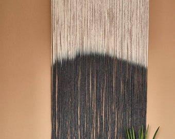 "Macrium Wall Hanger ""Modern rustic"" | Wallhanging | Macrame | Homedecor | Interior | Manual Work | Handicraft"