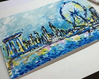 Custom Landscape paintings