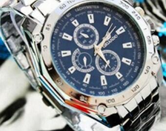 Popular Creative ORLANDO Stainless Steel Business Wristwatch