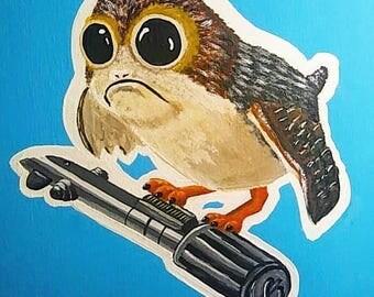 Star Wars Porg  11x17 Print