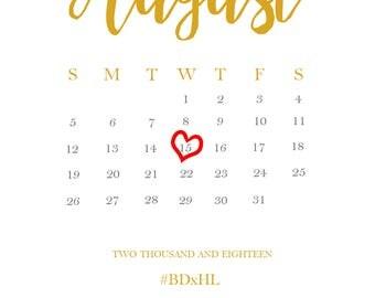 Baby Announcement Calendar