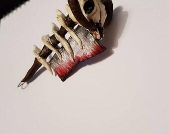 The Butchers cleaver, handmade keyring