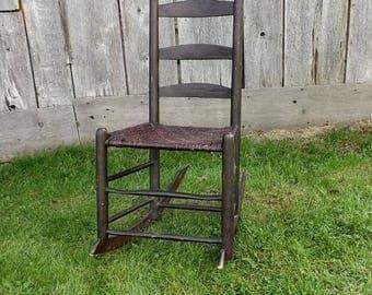 Vintage Nursing Rocking Chair Etsy