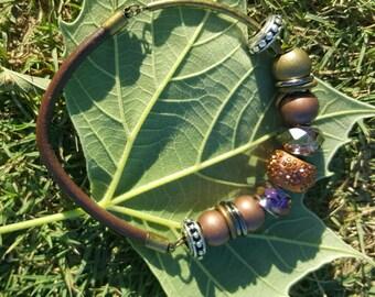 Bronze Pandora Style Bracelet