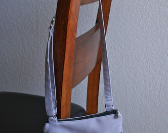 Small Crossbody Bag in Gray