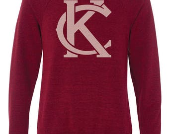 Red KC Logo Crew Neck Sweatshirt