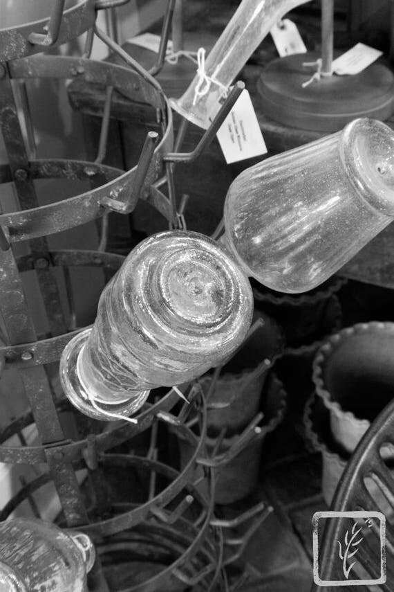 """""""Old Glass Vases,"""" Ben's Garden, Huntington, New York, 2017."""