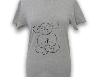 KnottyTee, Levitating Monkey T-Shirt