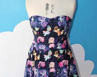 my little pony - merponies - sweet heart dress
