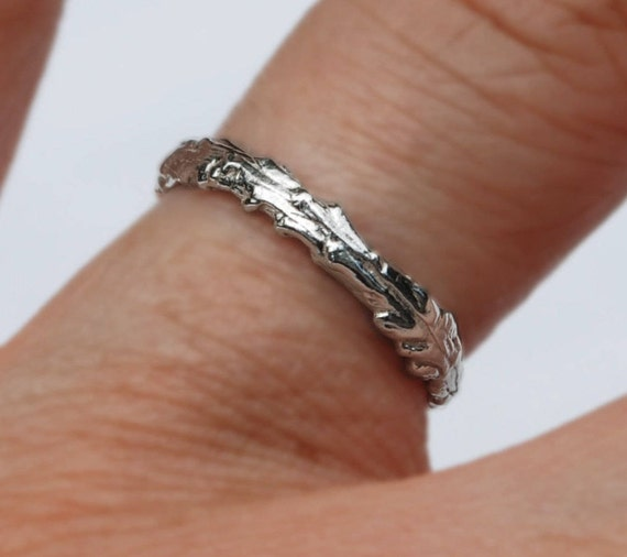 Long Island Sterling Silver Twig Ring-READY TO SHIP.