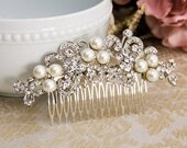 Bridal Hair Comb Wedding Hair Comb Bridal Hair Jewelry Crystal Hair Comb Rhinestone Haircomb Bridal Accessories Wedding Accessories