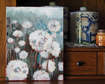 Spring Flowers-11x14 Canvas