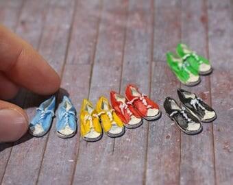 Hand-Painted Miniature Sneakers (1 pair)
