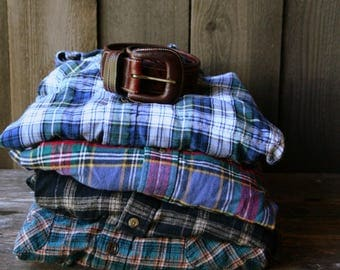 Vintage Flannel Shirts Choose Which Between Soft Cotten Flanels Vintage From Nowvintage on Etsy