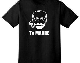 Funny Witty Sigmund Freud Tshirt - Psychiatry t shirt