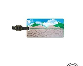 Luggage Tag Ant Farm Funny Bug Metal Luggage Tag  With Custom Info On Back Single Tag