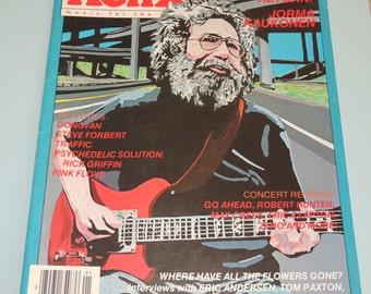 1987 Relix Music Magazine Grateful Dead
